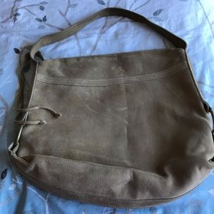 Banana Republic Bags - Suede leather Banana Republic purse